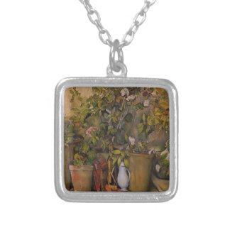 Paul Cezanne- Potted Plants Pendant
