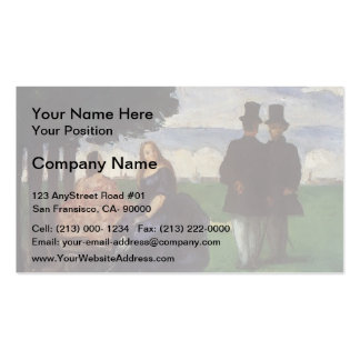 Paul Cezanne- Promenade Double-Sided Standard Business Cards (Pack Of 100)