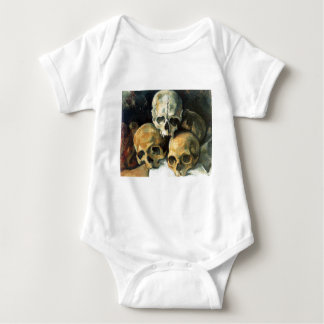 Paul Cézanne - Pyramid of Skulls Baby Bodysuit
