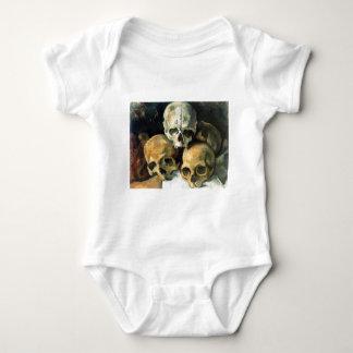 Paul Cézanne - Pyramid of Skulls T-shirts