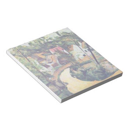 Paul Cezanne - Road bend Memo Notepad