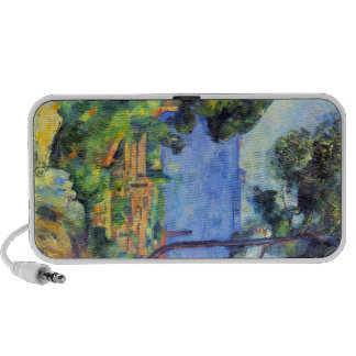 Paul Cezanne - scape de la tierra Laptop Altavoz