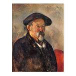 Paul Cezanne- Self-Portrait with Beret Postcard