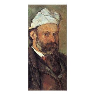 Paul Cezanne- Self-portrait with white turbaned Rack Card