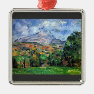 Paul Cezanne - soporte St Victoire Ornamento Para Reyes Magos