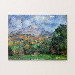 Paul Cezanne - soporte St Victoire Rompecabezas Con Fotos
