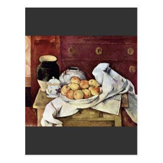 Paul Cezanne - Still Life Postcard