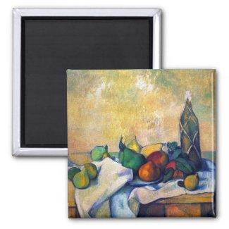 Paul Cezanne - Still life Rum Magnet