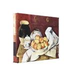 Paul Cezanne - Still Life Stretched Canvas Prints