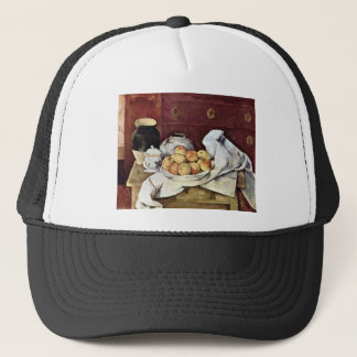 Paul Cezanne - Still Life Trucker Hat