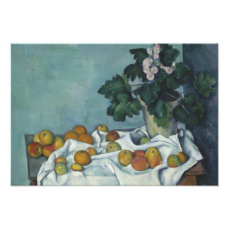Paul Cezanne - Still Life with Apples and a Pot Photo Print