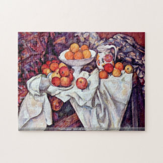 Paul Cezanne - Still Life with Apples and Oranges Puzzle