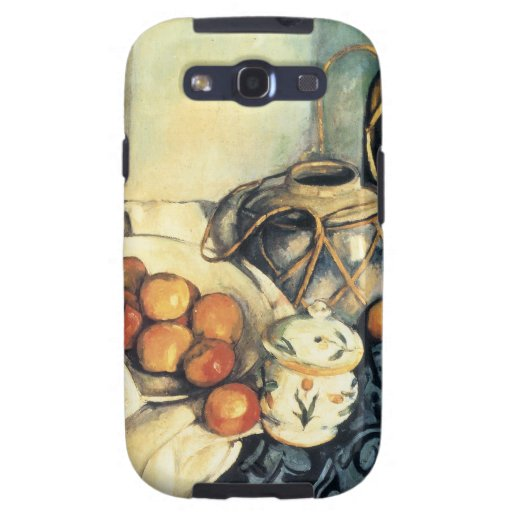 Paul Cezanne Still Life With Apples Samsung Galaxy S3 Cases