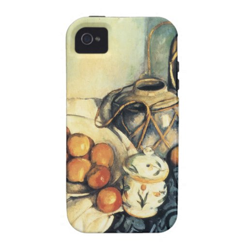 Paul Cezanne Still Life With Apples iPhone 4/4S Covers