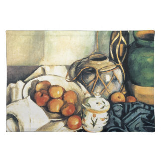 Paul Cezanne Still Life With Apples Cloth Placemat