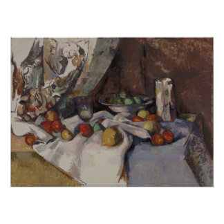 Paul Cézanne - Still Life with Apples Poster