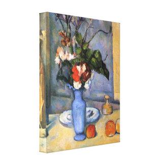 Paul Cezanne - Still Life with Blue vase Canvas Print