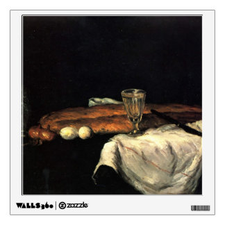 Paul Cezanne- Still Life with Bread and Eggs Room Graphic