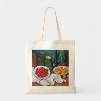Paul Cezanne Still Life With Cherries And Peaches Tote Bag