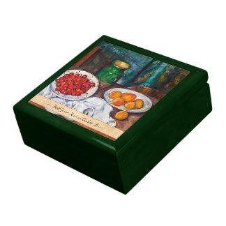 Paul Cezanne Still Life With Cherries And Peaches Gift Box