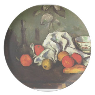 Paul Cezanne- Still life with fruits Dinner Plate
