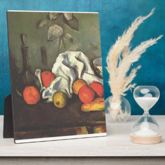 Paul Cezanne- Still life with fruits Photo Plaques