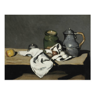Paul Cezanne - Still Life with Kettle Postcard