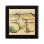 Paul Cezanne - Still life with Pears Jewelry Boxes