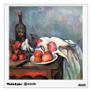 Paul Cezanne- Still Life with Red Onions Room Graphics