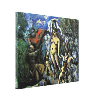 Paul Cezanne - Temptation of St Anthony Stretched Canvas Print