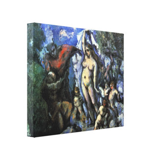 Paul Cezanne - Temptation of St Anthony Gallery Wrap Canvas