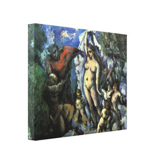 Paul Cezanne - Temptation of St Anthony Canvas Prints