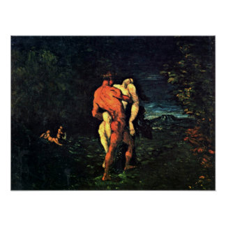 Paul Cezanne - The Abduction Poster