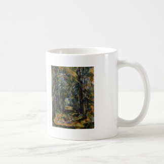 Paul Cezanne- The Alley at Chantilly Classic White Coffee Mug