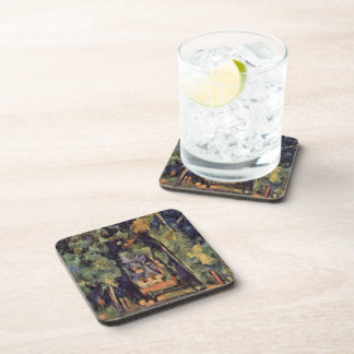 Paul Cezanne- The Alley at Chantilly Drink Coaster