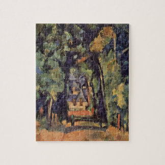 Paul Cezanne- The Alley at Chantilly Jigsaw Puzzle