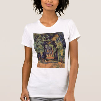 Paul Cezanne- The Alley at Chantilly T Shirt