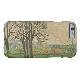 Paul Cezanne - The Bare Trees at Jas de Bouffan Barely There iPhone 6 Case