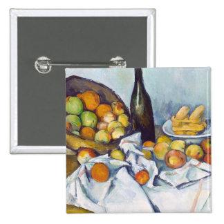 Paul Cézanne The Basket of Apples painting art Pinback Button