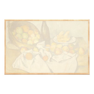 Paul Cézanne The Basket of Apples painting art Stationery