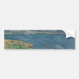 Paul Cézanne - The Bay of Marseilles Car Bumper Sticker