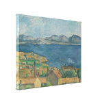Paul Cézanne - The Bay of Marseilles Gallery Wrap Canvas