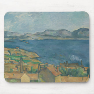 Paul Cezanne - The Bay of Marseilles Mouse Pad
