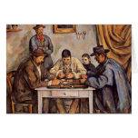 Paul Cezanne- The Card Players