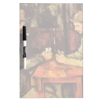 PAUL CEZANNE - The card players 1894 Dry-Erase Board
