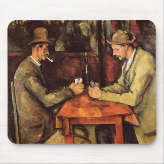 PAUL CEZANNE - The card players 1894 Mouse Pad