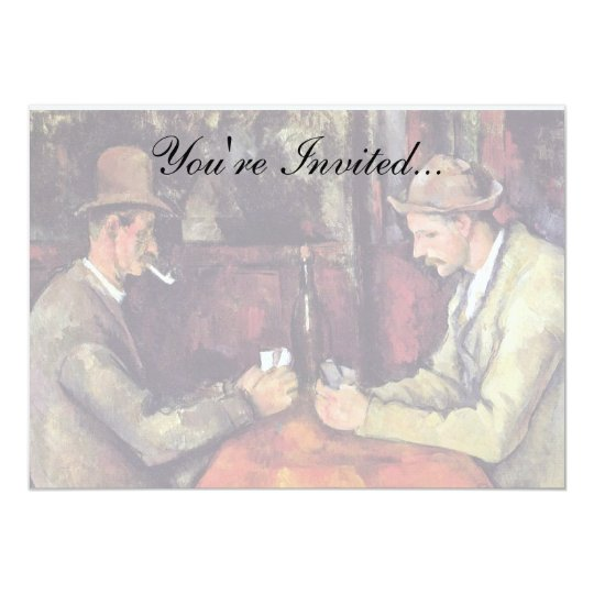 Paul Cezanne - The Card Players Fine Art Painting