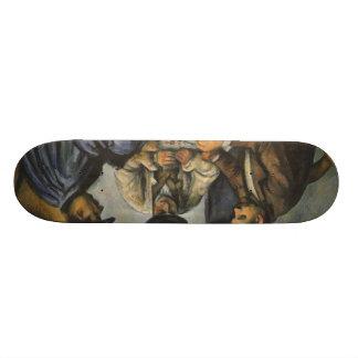 Paul Cézanne - The Card Players Skateboard