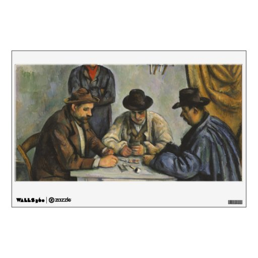 Paul Cézanne - The Card Players Wall Graphic