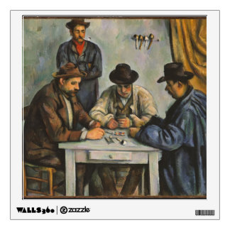 Paul Cezanne- The Card Players Wall Graphics